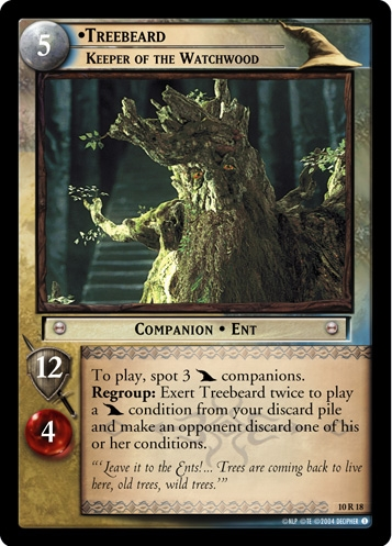 Treebeard, Keeper of the Watchwood