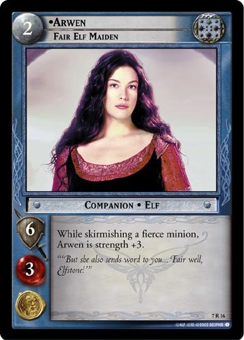 Arwen, Fair Elf Maiden