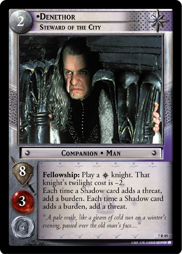 Denethor, Steward of the City
