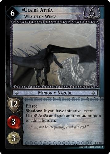 Úlairë Attëa, Wraith on Wings