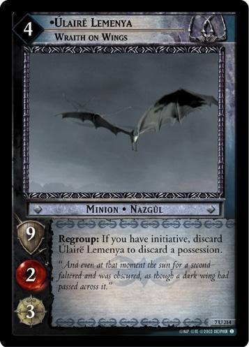 Úlairë Lemenya, Wraith on Wings
