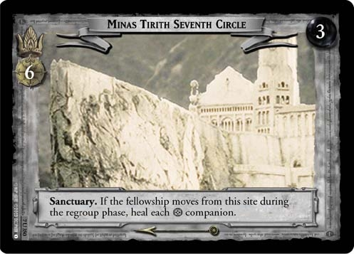 Minas Tirith Seventh Circle