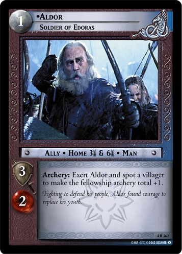 Aldor, Soldier of Edoras