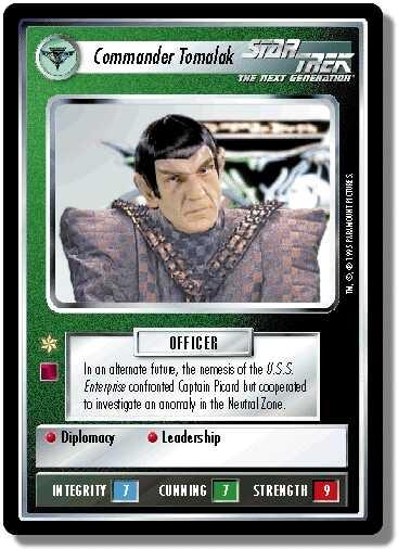 Commander Tomalak