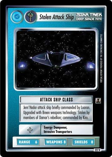 Stolen Attack Ship
