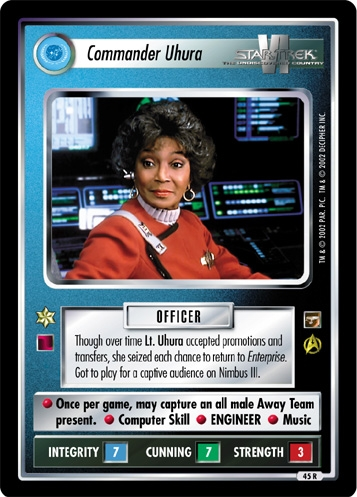 Commander Uhura
