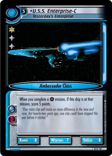 U.S.S. Enterprise-C, Yesterday's Enterprise