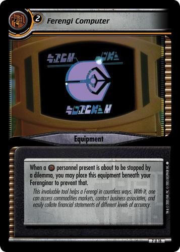 Ferengi Computer