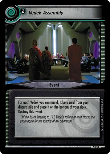 Vedek Assembly (first version)